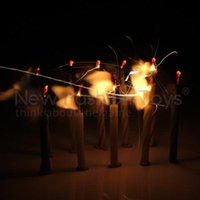 Wholesale New Blowing Eternal Relighting Magic Candles Toy Gift Trick Party Birthday Xmas