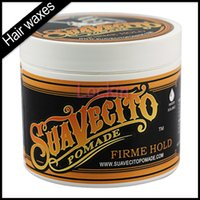 Wholesale 2016 Suavecito Pomade Gel oz Strong Style Restoring Ancient Ways is Big Skeleton Hair Slicked Back Hair Oils Wax Mud