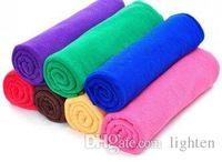 Wholesale 300PCS High Quality Microfiber Cleaning Towel Car Washing Nano Cloth Dishcloth Bathroom Clean Towels Rectangle x70cm