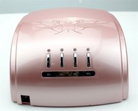Wholesale Hot sales best quality blister safe packing nail dryer machine EU Plug v v timer auto sensor w ccfl uv led nail lamp