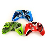 Cheap Soft Silicone Camouflage Camo Protective Sleeve Case Cover Skin Cover for Xbox one Controller Seven--eleven
