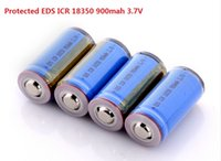 Wholesale 2pcs EDS protected li ion v mah rechargeable battery