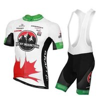 Cheap 2014 Brand New Cycling Rocky Mountain Canada Team Cycling Summer Jersey (Bib) Shorts Breathable High Quality Free Shipping