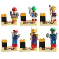 Wholesale No Oraginal Original Box Cards For Kids New Arrival Boys Girls Cartoon Alpinia Oxyphylla Toys Building Block Sets