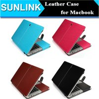 Wholesale Luxury PU Leather Laptop Case Cover For Apple Macbook Air Pro Retina Inch Unique Design Protective Sleeve Bag