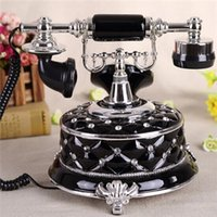 Wholesale vintage wall Retro telephone Home telephone cheap telephone set antique phone for the best gift