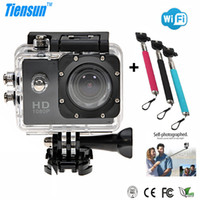 underwater video camera - Motion Detection P Full HD Diving M WIFI Underwater Video Action Camera Helmet SJCAM Camera Go Pro Sport Camera Mini Camcorder Monopod