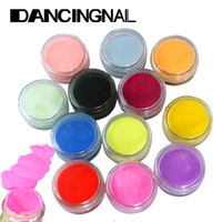 acrylic nail powder colors - Colors Nail Art Tips Acrylic D UV Gel Powder Dust Design Decoration Manicure Tools
