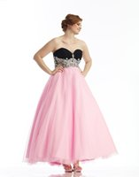 designer plus size - 2015 New With Applique Chiffon Designer Plus Size Special Occasion Dresses Sexy Sweetheart Backless Ankle Length A Line Custom Made