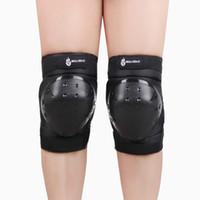 Wholesale High Quality Sports Knee Pads Kneepad Kneecap Kneelet PVC Soft Knee Protector Skating Ice Skiing Snowboarding Black