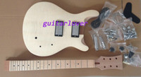 Wholesale custom shop Guitar Body Flame Maple Top Unfinished Electric Guitar DIY Guitar body