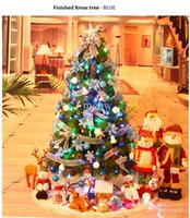 christmas trees wholesale - Christmas Xmas Tree Kit Decoration Whole Package Mixed Tree Christmas Decorations cm Patry Home Layout