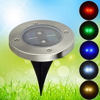 Cheap IP68 Solar Underground Lamp Best Garden  led lights