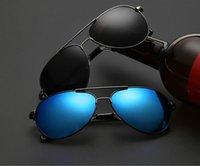 big ride - 2016 Mens Sunglasses retro classic Designer high quality colors big frame frog polarized sunglasses driving sunglasses riding glasses