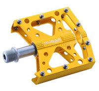 aluminum extrusion alloys - New RUBAR Z For Men S Road MTB Downhill Mountain Bike BMX Bicycle Cycling Extrusion CNC Alloy Pedals Yellow