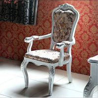 Wholesale factory price Royal bed Fashion European French Carved Chair furniture
