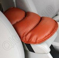 Wholesale 100PCS HHA453 Car Auto Armrests Cover Vehicle Center Console Arm Rest Seat Box Pad Protective Case Soft PU Mats Cushion Universal