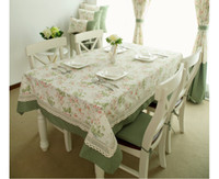 banquet kitchen table - Elegant Home Textile Tablecloth Lace Table Cloth Knitted Vintage Dining Table Cover Knitting Banquet Kitchen Wedding Table Cloth