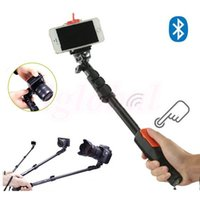 Wholesale YunTeng Monopod Handshold Aluminum Alloy Holder Selfie Stick with Bluetooth Remote Shutter Phone Holder For iPhone IOS Note Andriod