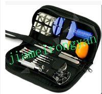 Wholesale Case Opener Remover Adjuster Repair Tool Set watch repair tool for a set watch and clock Watch repair tool kits