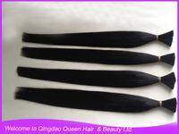 Wholesale Virgin Remy Human Hair Raw Bulk Hair Raw Hair Bundle g Natural Black Color