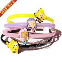 baby guppies - set Bubble Guppies Baby Girls Kids Headbands Headwear Hair Accessories Hair Tool Maker Children Party Supplies Birthday