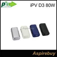 Precio de D3 ipv-100% auténtico Pioneer4you <b>IPV D3</b> 80W TC Caja Mod YiHi Chip-Set Control de Temperatura 18650 E-cigarrillo Mods Match Uwell Crown Tanque Arctic Turbo