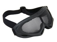 Wholesale Hot Sale X400 Steel Mesh Goggles For Hunting CL8