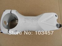 Wholesale Bike Handlebar Rise Stem mm White Color Bicycle Stem for Mountain Bike Bicycle Parts