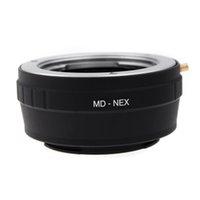 camera lens minolta - Brand NEW MD NEX Camera Adapter Ring for Minolta MC MD Lens for Sony NEX F5 R VG20 E mount