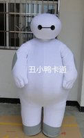 Wholesale 2015 High quality Christmas suit Big Hero Baymax Mascot Costume Adult Size