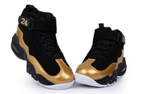 Mid Cut griffey shoes - discount branded Ken Griffey men basketball shoes male sports running shoes size