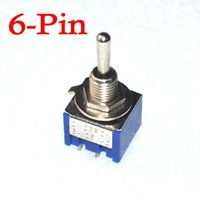 Wholesale 6 Pin DPDT ON OFF ON Toggle Switch A VAC