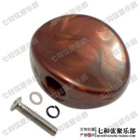 axle caps - Coffee color pit shape string button handles string axle buckles knob caps