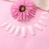 Cheap 500pcs Nude False Nail Nails Art Design Tips White  Natural Color For Choose French Acrylic UV Gel Salon Design