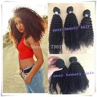 Cheap Unprocessed Instock Weave Weft Malaysian Kinky Curly Hair Extensions Grade 7A Afro Kinky Curly Virgin Hair 3 Bundles DHL Fast Free Shipping