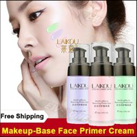 Wholesale Primer Makeup Cream Face Color Correction Lotion Moisturizing Pores Invisible Foundation Concealer Cosmetic Protector g