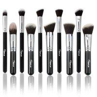 Wholesale Hot Sale SixPlus Makeup Brushes Set Box Packing Powder Foundation Eyeshadow Kabuki Make Up Kit