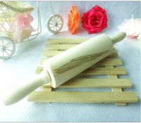 Wholesale Rolling pin Dutch wood material DIY rolling pin cm dough roller dumping noodles roller cooking tool Q