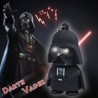 Wholesale 2016 New Star Wars Figures toy Black Knight Darth Vader Stormtrooper PVC Action Figures LED toys