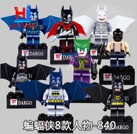 Wholesale New batman Building Blocks minifigures figures style