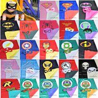 kids costumes - Superhero cape CAPE MASK cm back Super Hero Costume for Children Halloween Party Costumes for Kids Children s Costume
