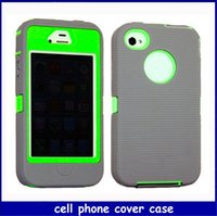 Realtree case - defender case Combo Realtree Case Silicone cover for iphone4 S