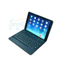 alloy holsters - Heng Da M15 aluminium alloy bluetooth Keyboard and holster for ipad Air Black