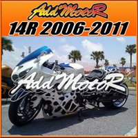 abs unique gift - Addmotor Injection Mold Fairings For Kawasaki ZX R ZX14R ZX R Unique Blue White Black K17560 Free Gifts