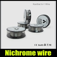 Wholesale New Kantal A1 Wire Resistance Vaportech kantal heating Wires Heating Coil Wire wick Feet for RBA RDA tank g