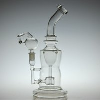 bangers - Mothership Torus sturdy Glass water pipes oil rigs glass bongs incycler with thick glass honey bucket banger