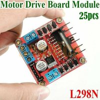 Wholesale New Dual H Bridge DC Stepper Motor Drive Controller Board Module Arduino L298N Free Express