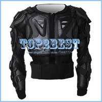 body armor - Motorcycle Full Body Armor Jacket motocross protector Spine Chest Protection Gear M L XL XXL