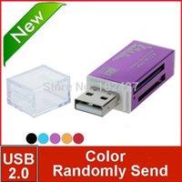 Wholesale New Arrive All in one USB Multi Memory Card Reader for Micro SD TF M2 MMC SDHC MS Duo